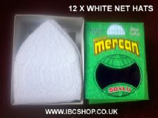 Mosque Pray Net Hat Full Box ( available in White & Black ) Brand NEW